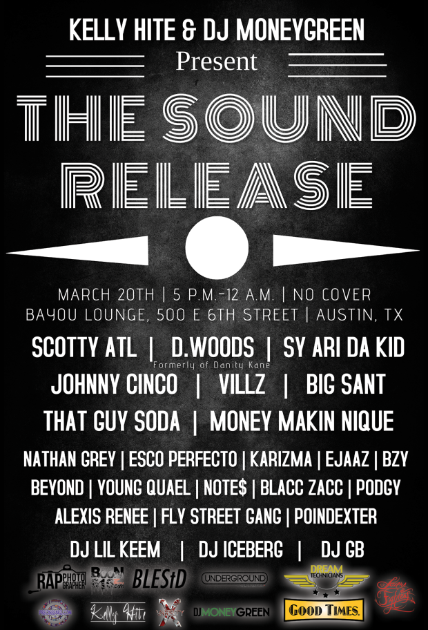 The Sound Release Showcase ft. Scotty Atl, D. Woods, Big Sant, Johnny Cinco