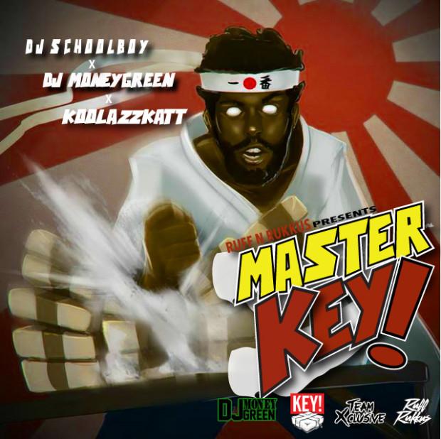 "KEY! ""MASTER KEY!"" HOSTED BY DJ MONEYGREEN, DJ SCHOOLBOY, and KOOLASSKATT"
