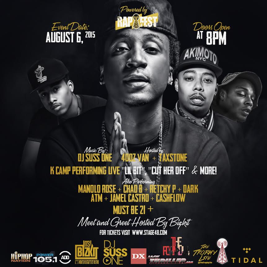 K Camp The Rapfest