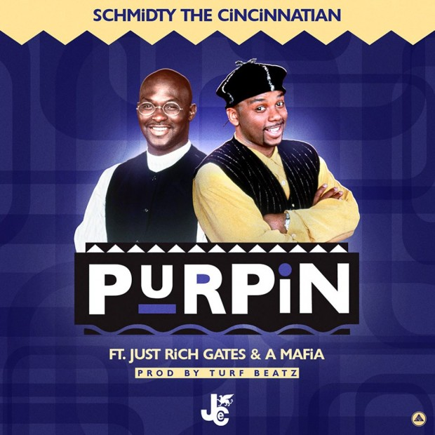 JCE Schmidty The Cincinnatian – Purpin Ft Just Rich Gates,A Mafia prod by Turf Beatz
