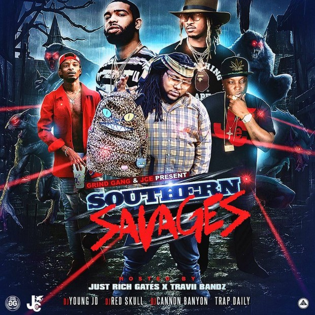 Southern Savages Hosted by Dj Red Skull, Dj Cannon Bannyon, Dj Young Jd & Trap Daily