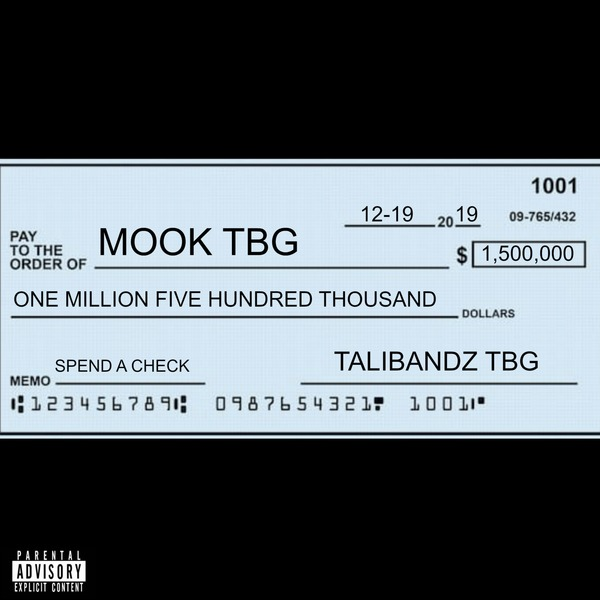 Mook – Spend A Check
